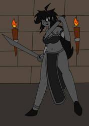 [RANDOM DRAWING] Blade Dancer, Set in Stone by Jayronzski