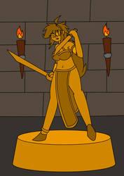 [RANDOM DRAWING] Blade Dancer, A Fine Trophy by Jayronzski