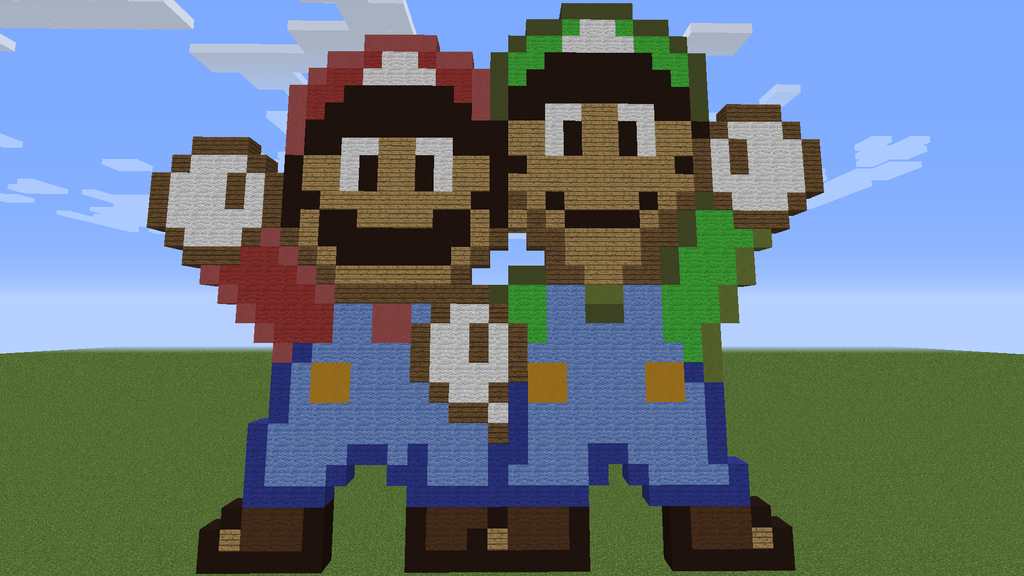 How To Build Super Mario World Map In Minecraft