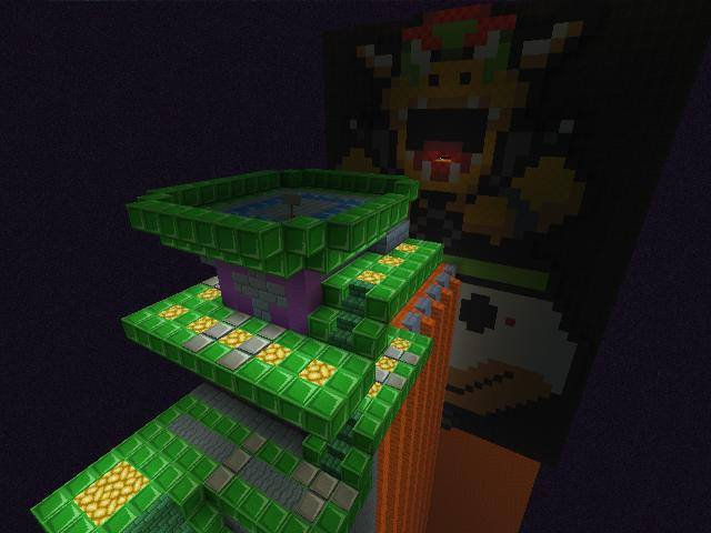The Great Tower Of Bowser Land: Final Bowser Fight by