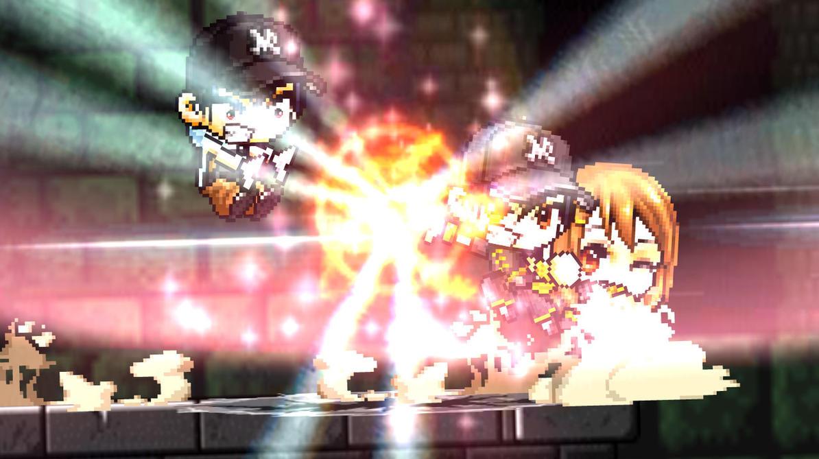 Saito vs. Nega Saito | Scene 3 Screencap by SoldierSuper117