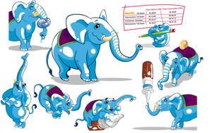 Elefantes by waltertierno