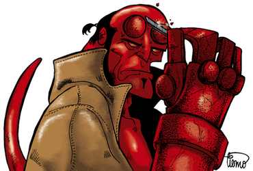 Hellboy by waltertierno