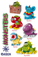 Monstros by waltertierno