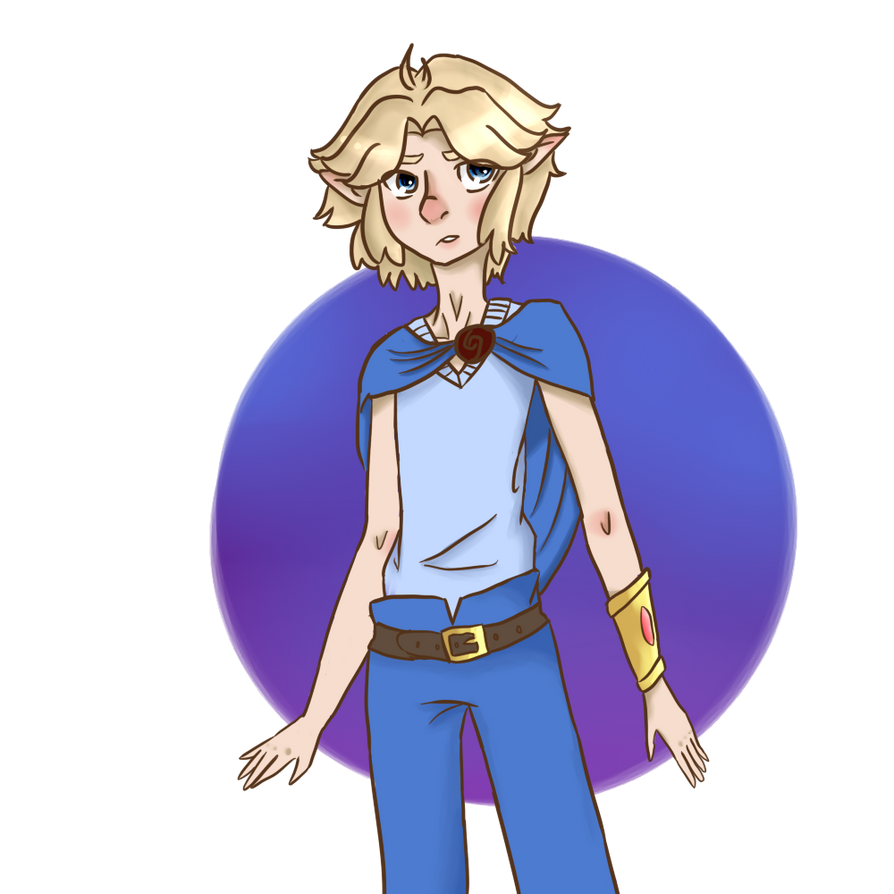 Tiny Son Tim by raiinbowHyperdrive