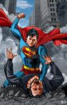 Superman against Zod