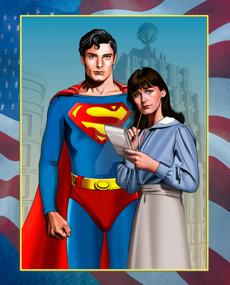 Lois an Superman by hamletroman