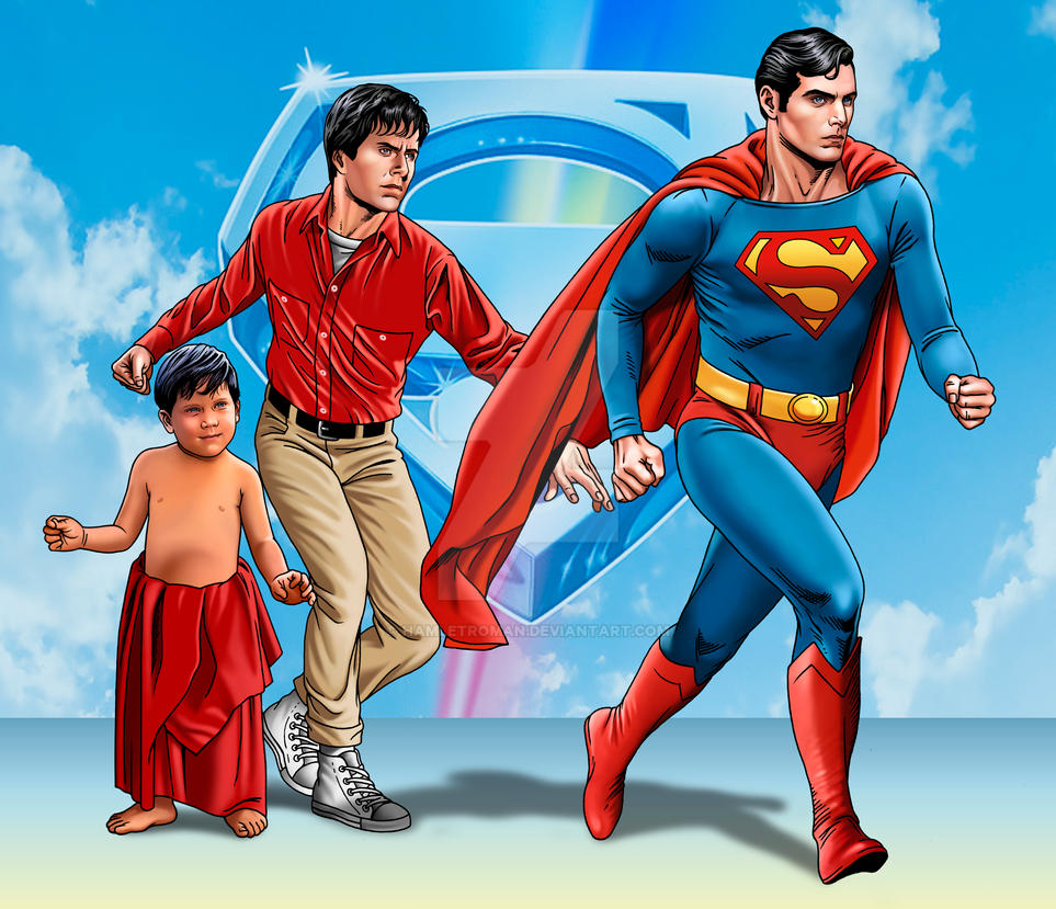 Superman 1978 by hamletroman