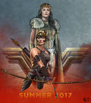 QUEEN HIPPOLYTA and ANTIOPE