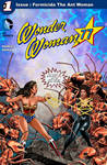 Wonder Woman against Formicida The Ant Woman