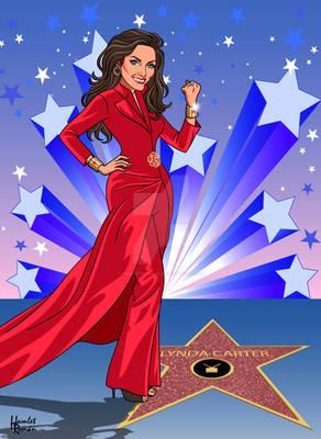 Lynda Carter Hall Of Fame Star