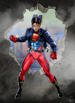SUPERBOY -Young Henry Cavill version
