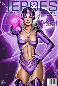 Liz Taylor as Star Sapphire