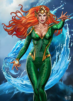 Jessica Chastain As Mera Queen Of The Sea