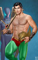 Clint Walker as Hawkman