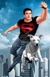 Jhosua Orpin as Superboy