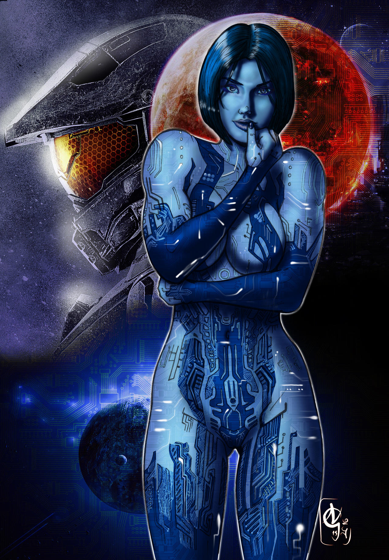 Halo cortana masterbating xxx movies