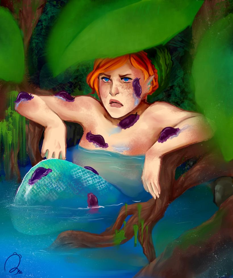 WoE snail bath by Rebcebab