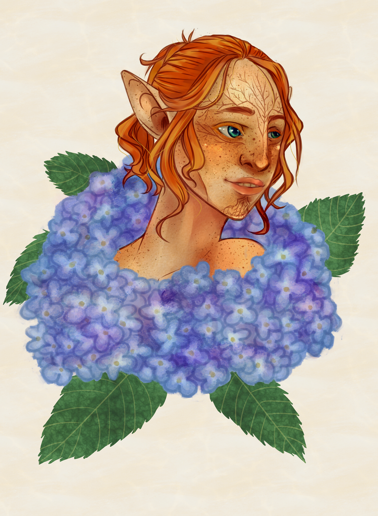 DAI: Inquisitor Lavellan Bust by gohda