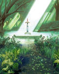 A Link to the Past Master Sword Artwork Extended