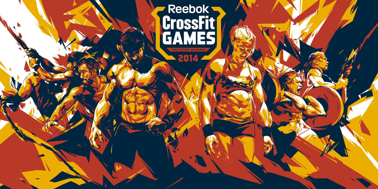 Reebok crossfit posters