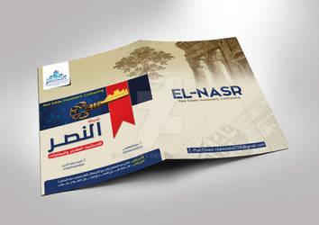 El-Nasr Real Estate  Folder Design