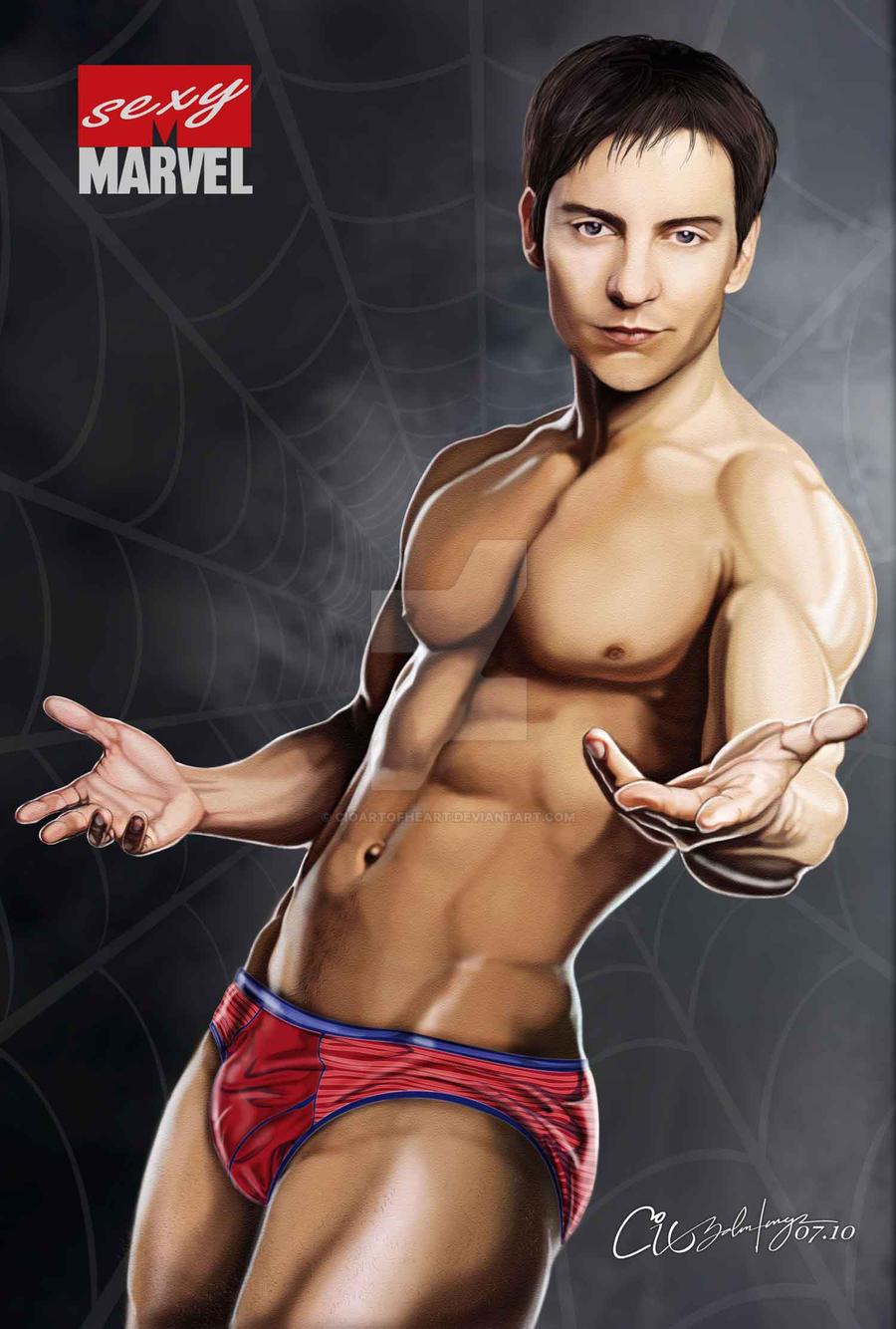 Sexy Marvel - Spider man