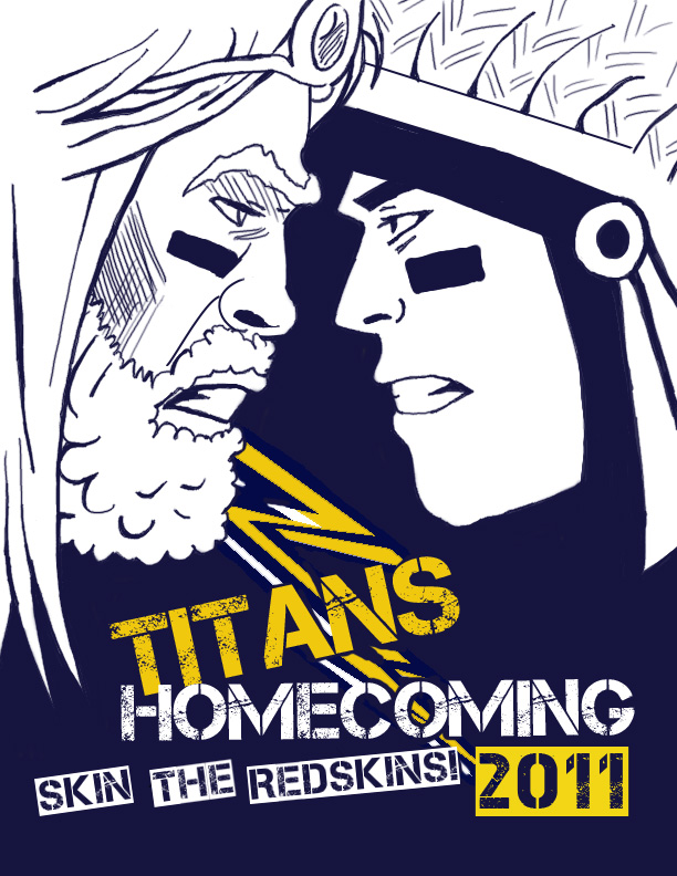 titans homecoming shirt design by boobookachoo on deviantart
