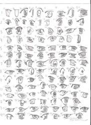 Summer Anime Project:  Eyes by BooBooKachoo