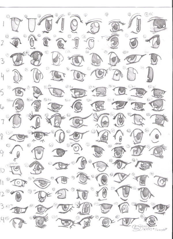 Summer Anime Project:  Eyes