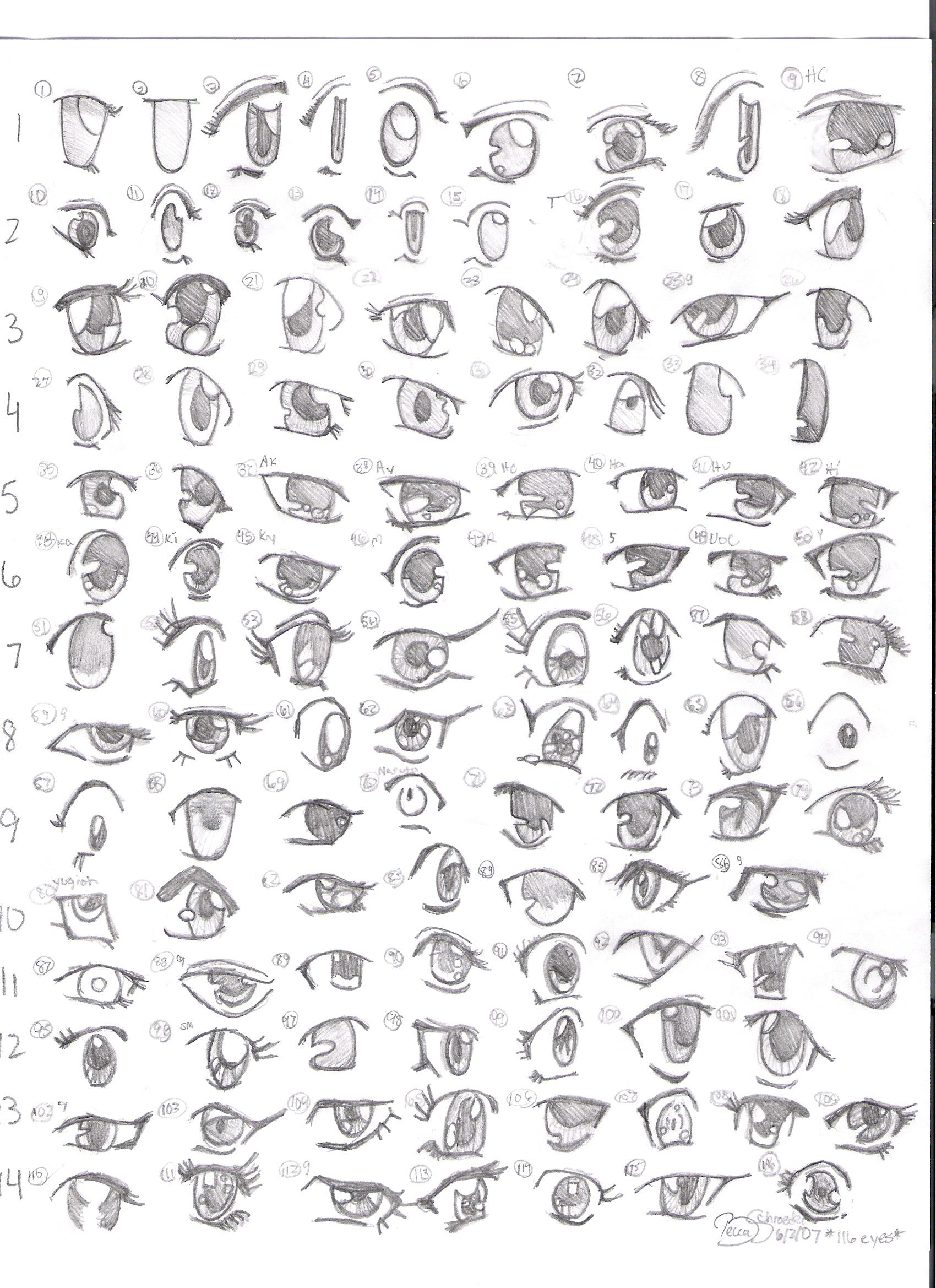 как рисовать аниме глаза а также ...: flight-dream.com/forum/index.php?topic=335.0