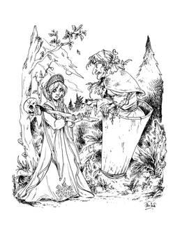 Vassilisa et Babayaga