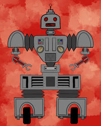 Retro Robot 2