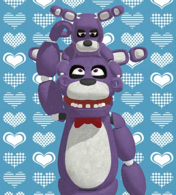 Bonnie and Mini Bonnie - Cute Buns by AsukaRose