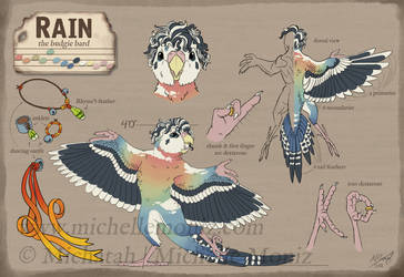 Reference: Rain The Budgie Bard