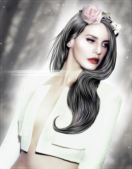 White Queen ~ Graphic by HarajukuNoMatie