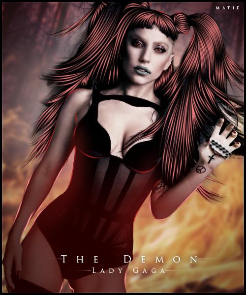 The Demon ~ Lady Gaga by HarajukuNoMatie