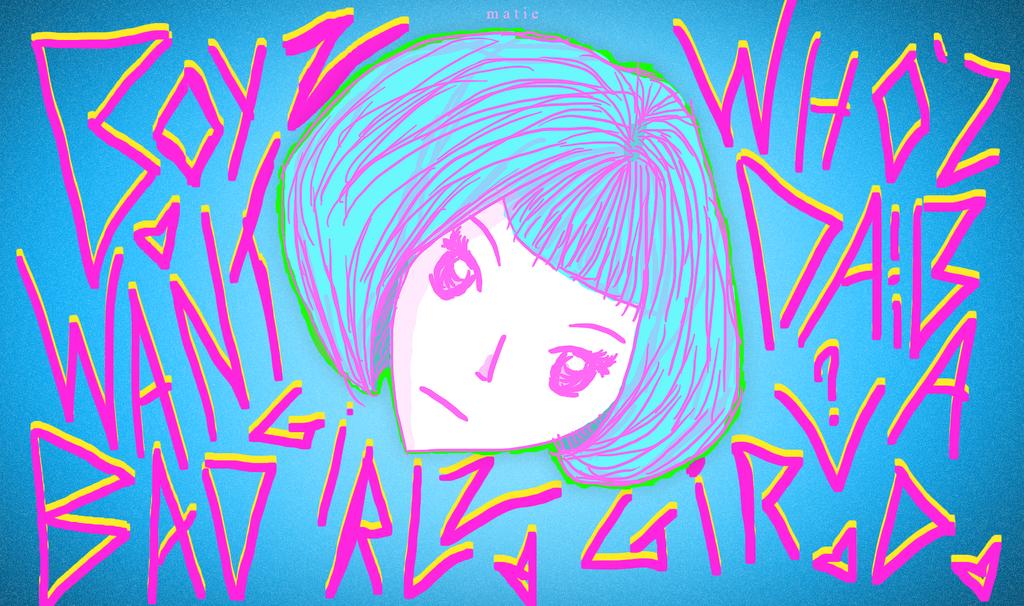 Boyz want bad girlzzz ~ by HarajukuNoMatie