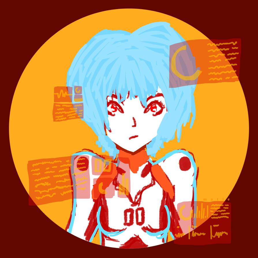 Rei Ayanami by HarajukuNoMatie