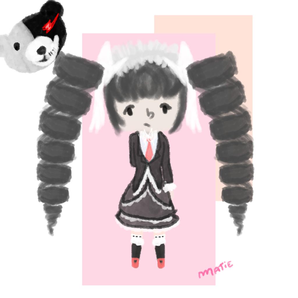 celestia // aka the best character in danganronpa by HarajukuNoMatie