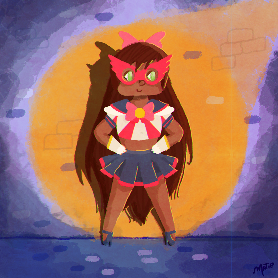 sailor v ~ 20/11 black awareness day by HarajukuNoMatie