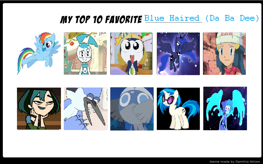 Cartoon Characters With Blue Hair : Yakety yak the show bing images