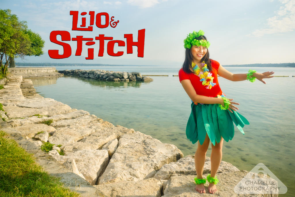 Disney Lilo and Stitch photoshoot by chamellephoto