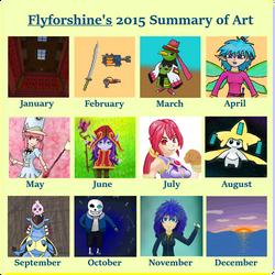 Flyforshine's summary of art 2015 by flyforshine