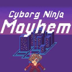Cyborg Ninja Mayhem by flyforshine