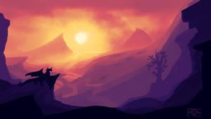 Draconic Sunset
