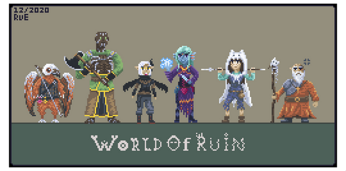 Dungeons and Dragons : World of Ruin party