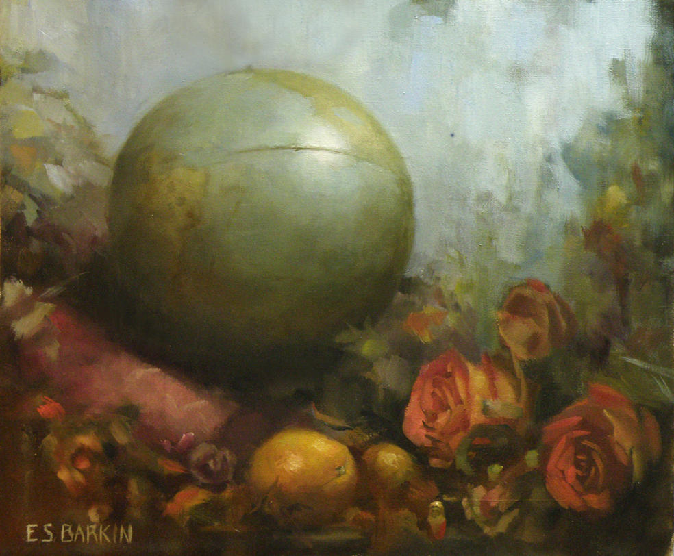 Globe by EllenBarkin
