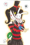 Aki Enma and MdMbunny doll