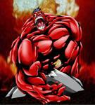 The Red Hulk by drock03